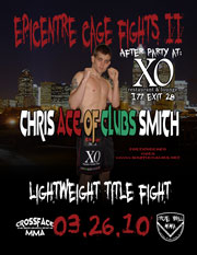 Ace Of Clubs Title Fight Poster